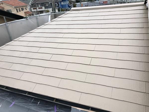 愛知県日進市 屋根葺き替え工事 屋根塗装 スレート屋根
