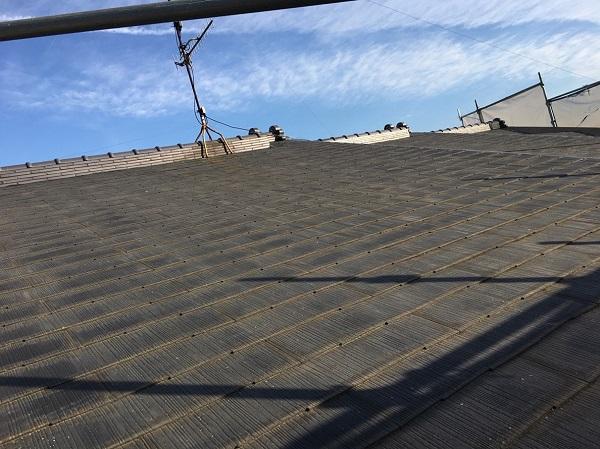 愛知県安城市 屋根葺き替え工事 雨漏りスピード補修 スレート屋根