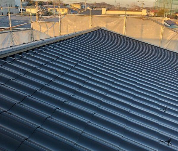 愛知県みよし市 屋根塗装 防水工事 スレート瓦 ウレタン防水