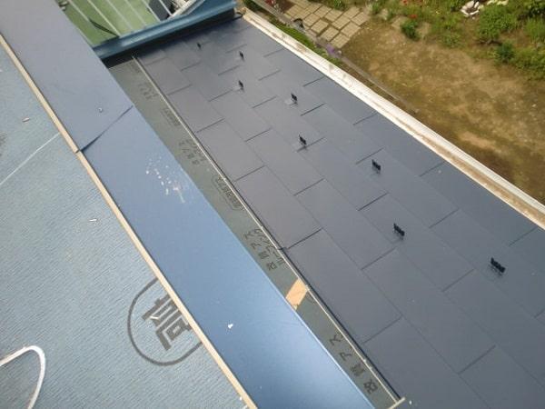 豊田市 屋根工事 屋根葺き替え工事 瓦屋根からガルバリウム鋼板へ (3)-min