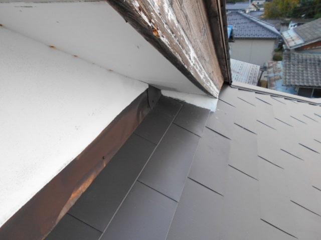 みよし市 屋根工事 屋根カバー工法(屋根重ね葺き工事) ガルバリウム鋼板 (3)-min