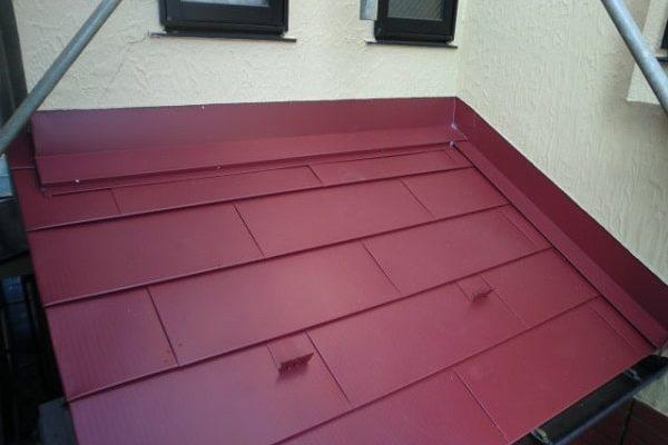 豊田市 屋根工事 屋根カバー工法(重ね葺き工事) コロニアルからガルバリウム鋼板(横葺き)へ (3)-min