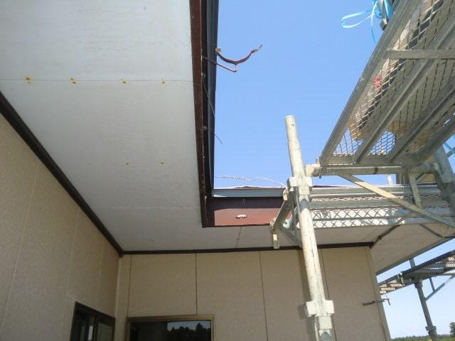 みよし市 屋根工事 屋根の葺き替え工事 外壁張り替え工事 雨樋交換 (3)-min
