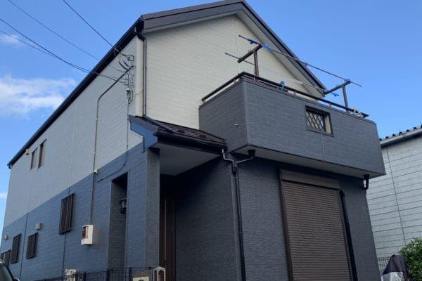 豊田市 屋根工事 葺き替え工事(屋根カバー工法) 外壁金属サイディング工事-min